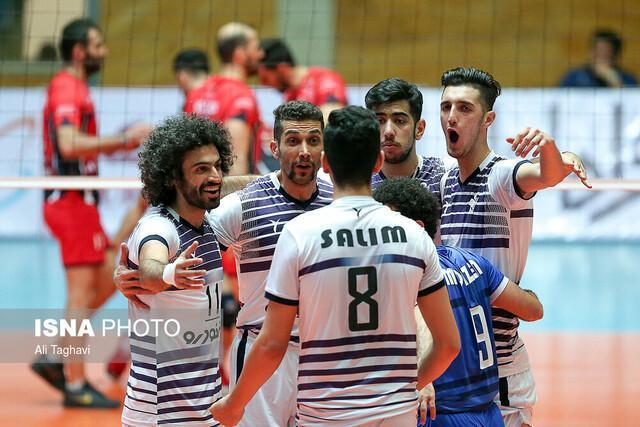 8 تیم پلی آف لیگ برتر والیبال تعیین شدند، شکست خانگی شهرداری تبریز، خاتم و پیغام