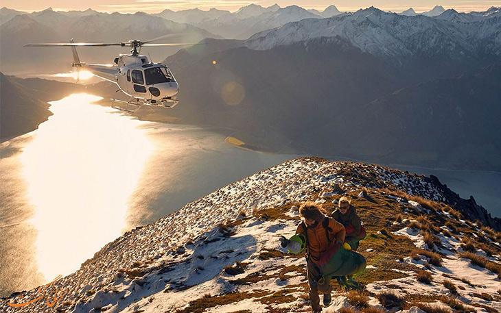 بهترین تجربه های هلیکوپتر سواری که می توانید داشته باشید