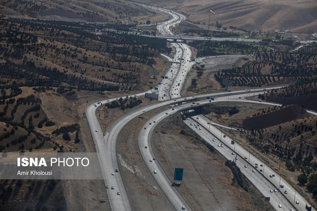اسامی محورهای مسدود شریانی و وضعیت ترافیکی محورهای شمالی