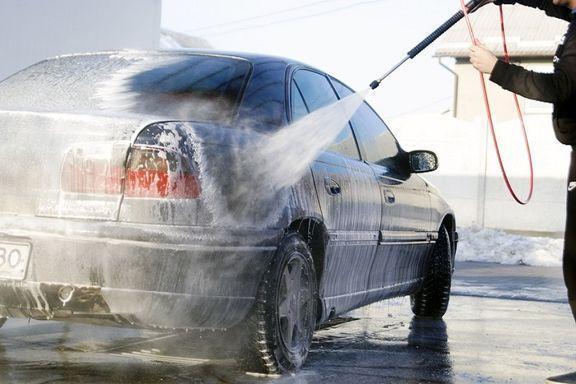 شستشوی خودرو با آب شرب، 800 هزار تومان!