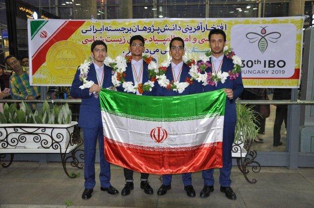 کسب چهار مدال توسط تیم المپیاد دانش آموزی ایران در المپیاد جهانی زیست شناسی