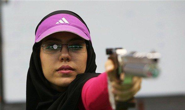 هفتمی تیرانداز ایران در تپانچه بادی جام جهانی، سبقت الهی از دستیابی به سهیمه المپیک بازماند