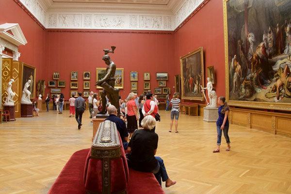 سالیانه بیش از 120 میلیون نفر از موزه های روسیه دیدن می کنند