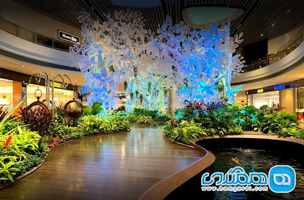 آشنایی با مرکز خریدی که در فرودگاه چانگی سنگاپور جای دارد